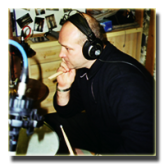 Heigl Fritz Friedrich im Studio - Machland Musikanten