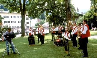 Machland Musikanten - bei der ORF Filmaufnahme