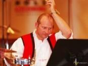 Der Leiter der Machland Musikanten